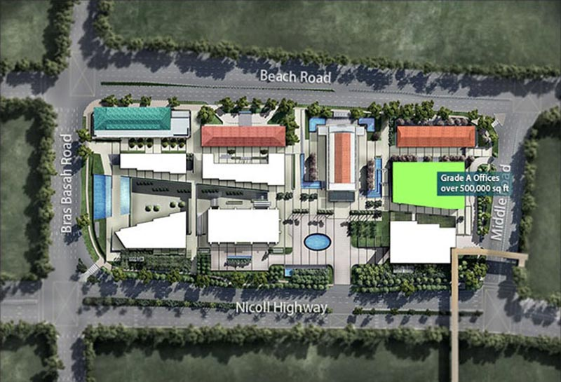 South Beach Residences Offices Site Plan